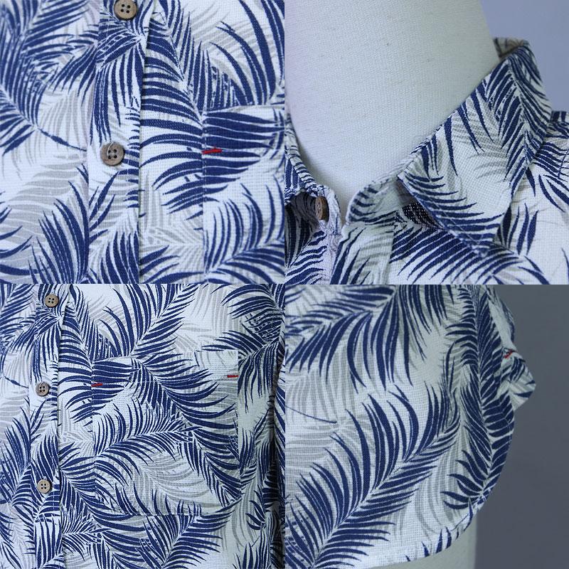メンズ シャツ 七分袖