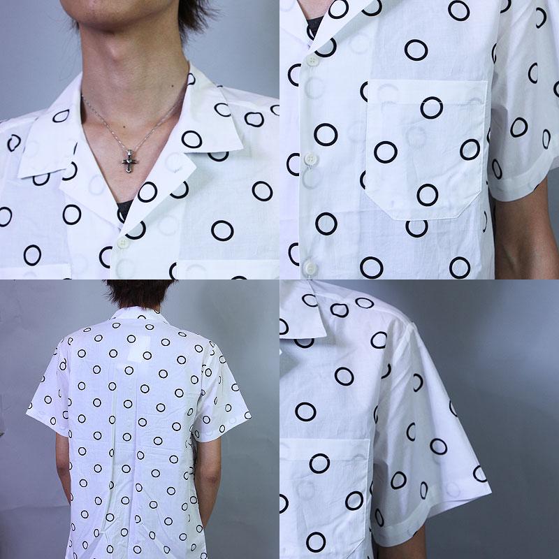 シャツ オープンカラーシャツ